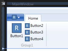Default Ribbon Control